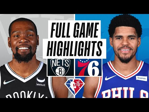 NETS at 76ERS | FULL GAME HIGHLIGHTS | October 22, 2021