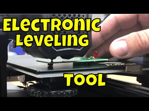 Electronic Device for Easier Bed Leveling on any 3D Printer