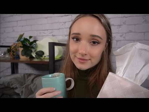 ASMR You're Sick! I'll Help You Feel Better 😊 | ASMR For When You Are Sick🤒