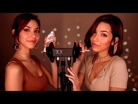 ASMR Twins Clean Your EARS! 👂